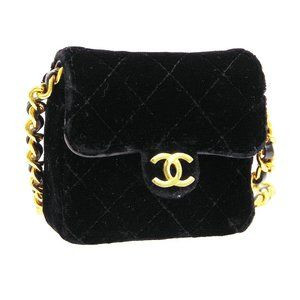 CHANEL Quilted CC Chain Mini Shoulder Bag